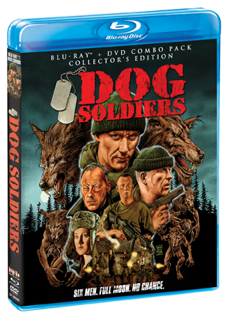 Dog Soldiers Collector's Edition Blu-ray Cover