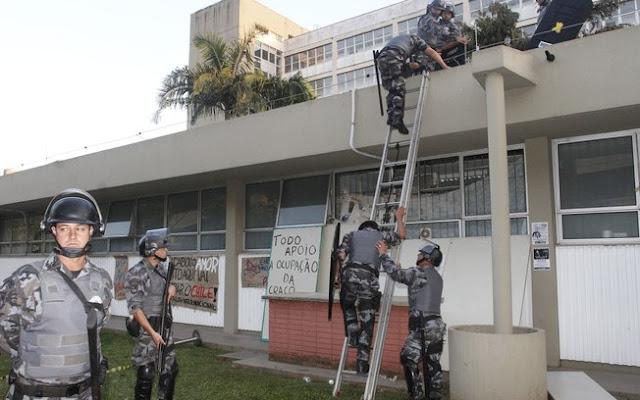 polícia de alckmin e a ditadura militar na USP