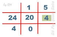 Máximo divisor comum de mais de dois números. Segunda parte, o resultado encontrado anteriormente e o terceiro número