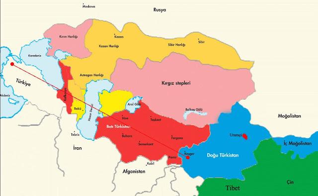 dogu turkistan