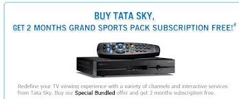 Now get this regard TATA sky Diwali and get 2 months free subscription!