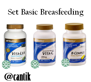 Set Breastfeeding Shaklee