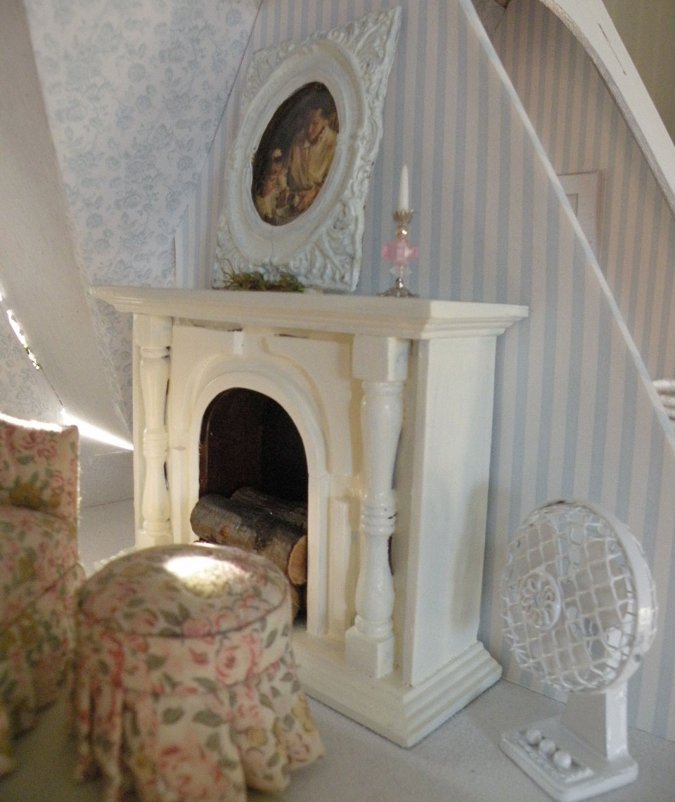 Dollhouse Minis Cynthia S Summer Rose Cottage