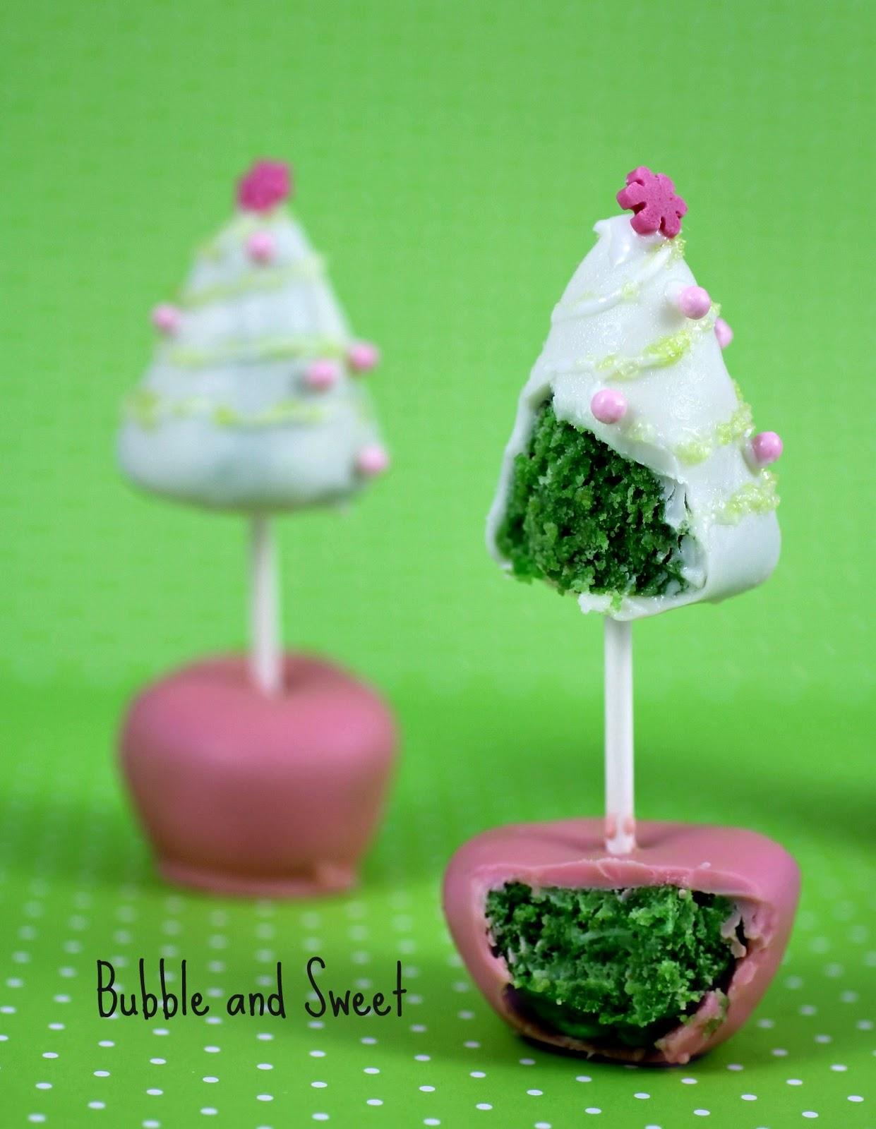 Christmas Tree Cake Pop Duo