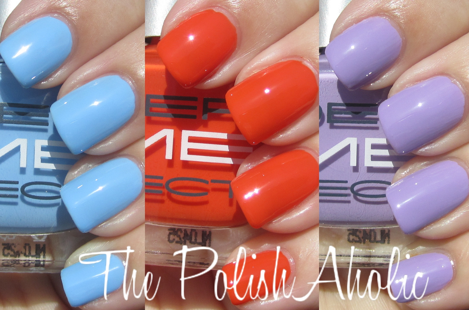 The PolishAholic: Dermelect ME Collection Swatches