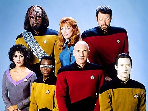 Otros actores de los personajes de la Película Star Trek o Viaje a las estrellas