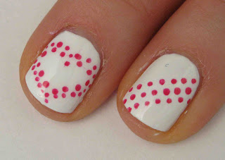 miss80million easy valentine's day nail art tutorial