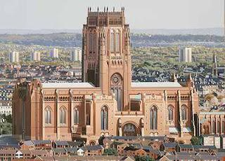 Estudiar ingles barato en Liverpool, Catedral