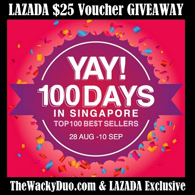 LAZADA Shopping voucher Giveaway