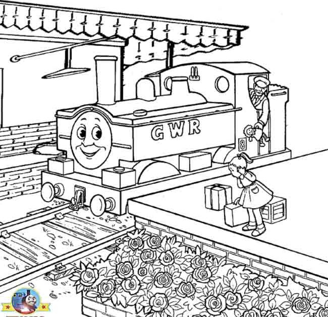 Free coloring pages for boys worksheets thomas the train for Thomas train coloring pages printable