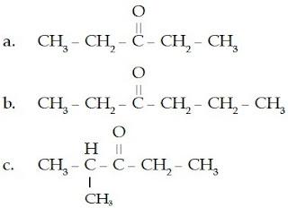 dietil keton etil propil isopropil