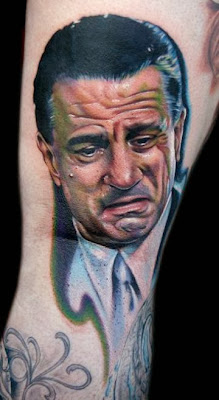 A DeNiro Portrait Tattoo