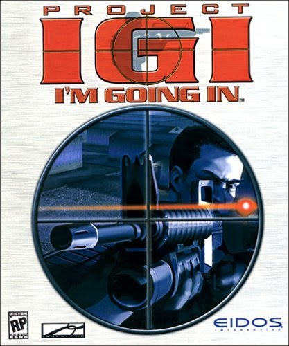 Project IGI 1 PC Game Cover
