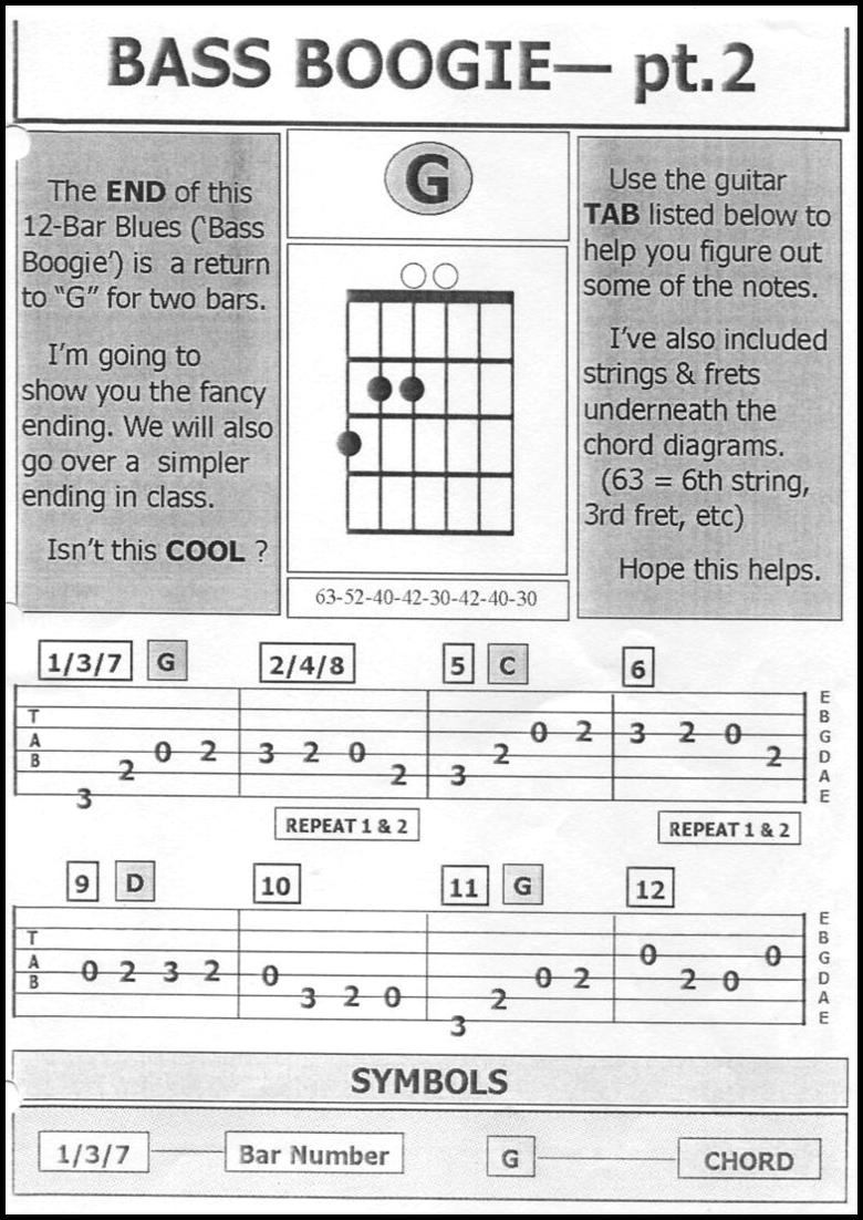 arthur smith guitar boogie tab