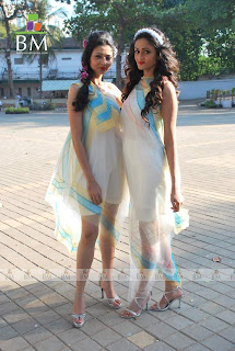 rahul mishra showcases collection at race course photos