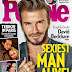 David Beckham Selected As PEOPLE's Sexiest Man Alive Of 2015