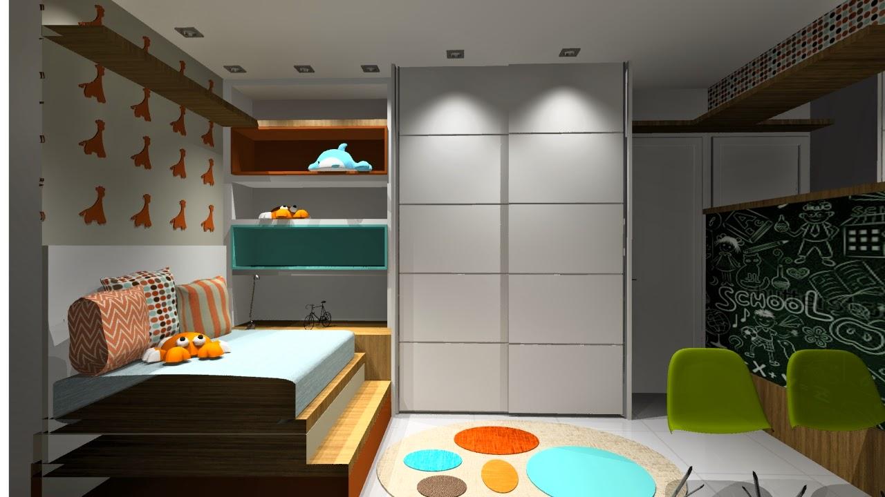 45 , Estudo design interiores apartamento Botafogo , projeto em andamento.