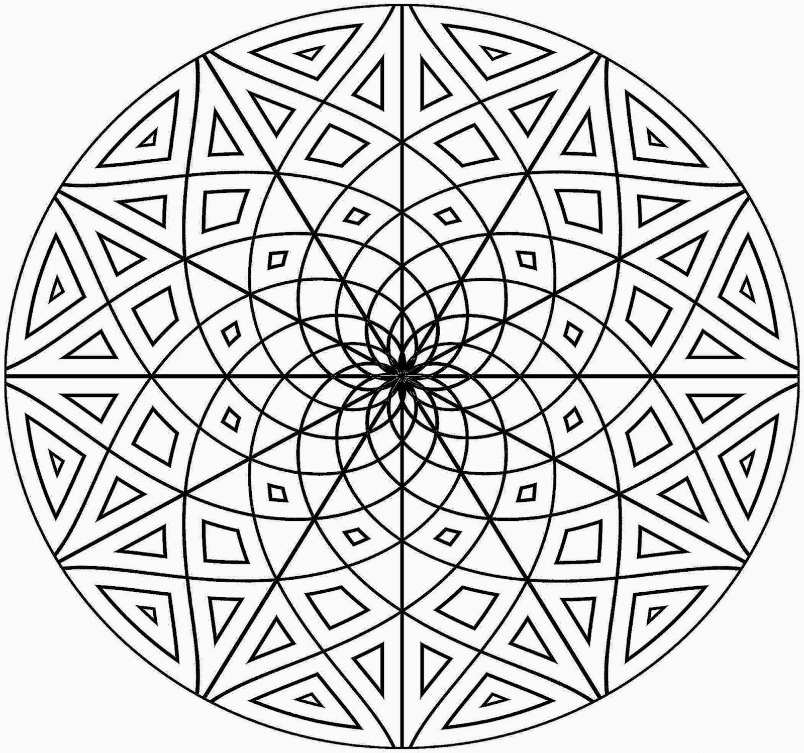 Pattern coloring sheets free coloring sheet for Geometric coloring pages online
