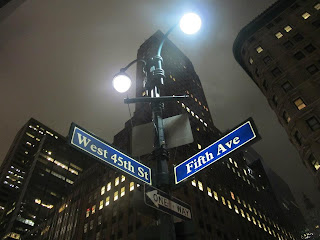 West 45th st and Fifth ave, New York City