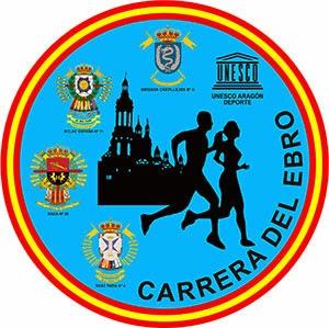 logotipo carrera del ebro zaragoza