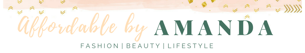 Affordable by Amanda | Tampa Fashion Beauty Travel Blog