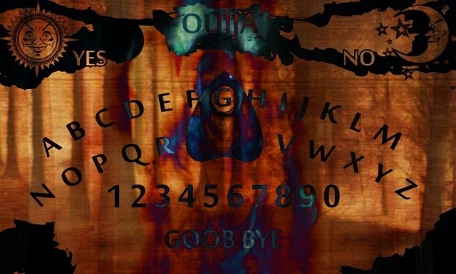Ouija Board: Image Created by All About Occult