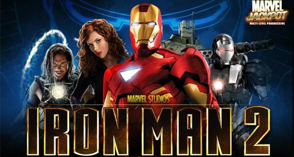maquina tragaperra de Iron Man 2