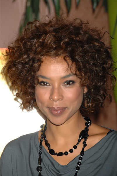 short haircuts for black women with curly hair. short hair styles for black women. Short Curly Black Hairstyle