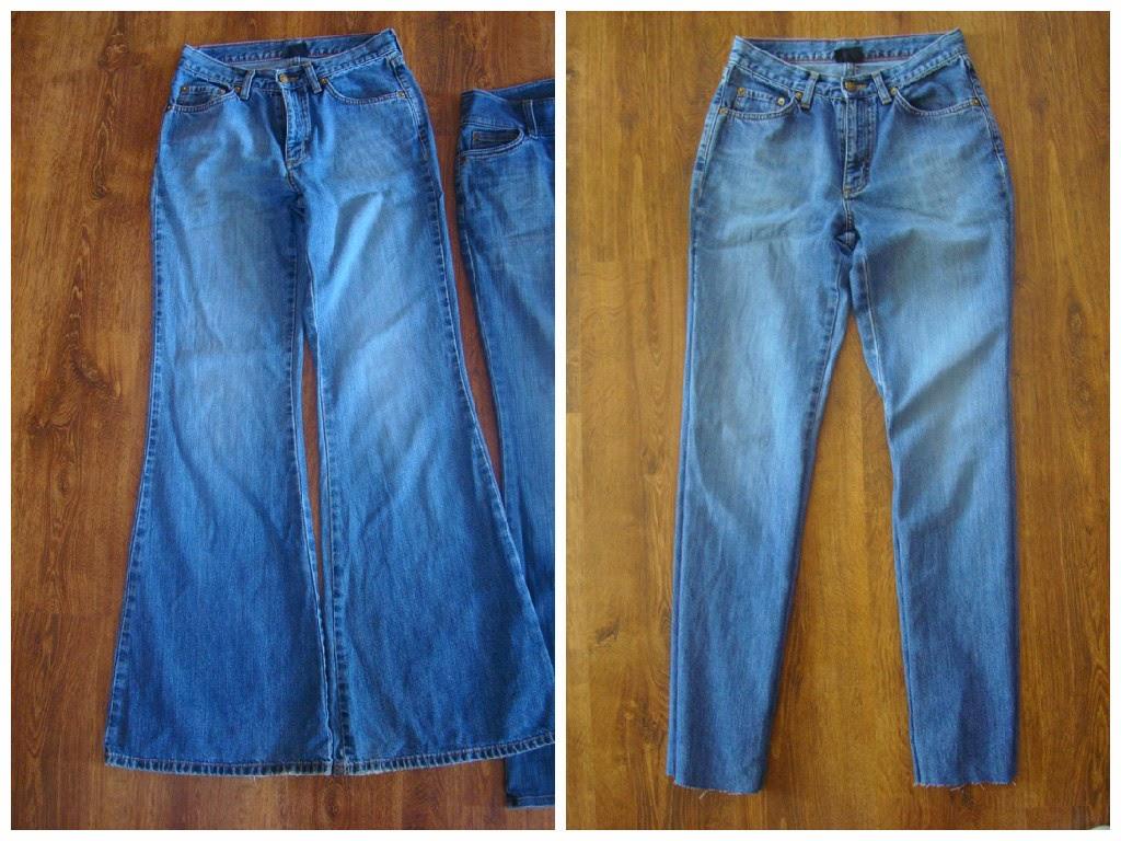 Как сделать джинсы узкими видео - Pressmsk.ru