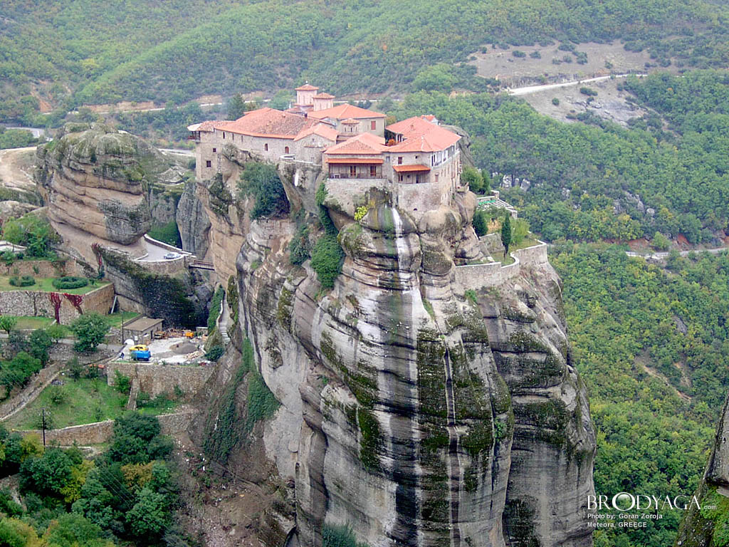 Meteora, Greece – Monasteries Travel Info  Tourist ...