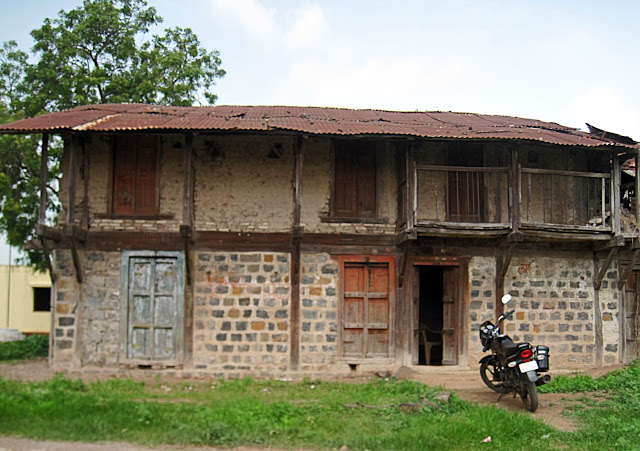 ancient house in village