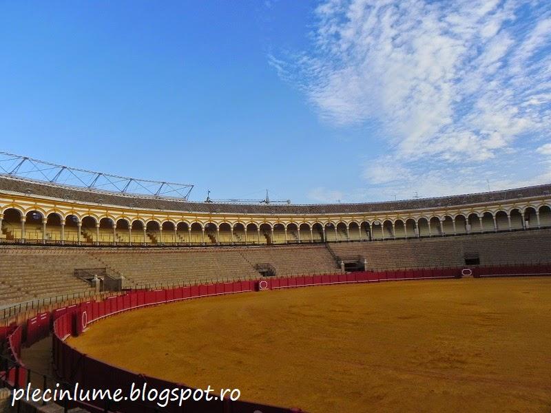 Plaza de toros din Sevilia