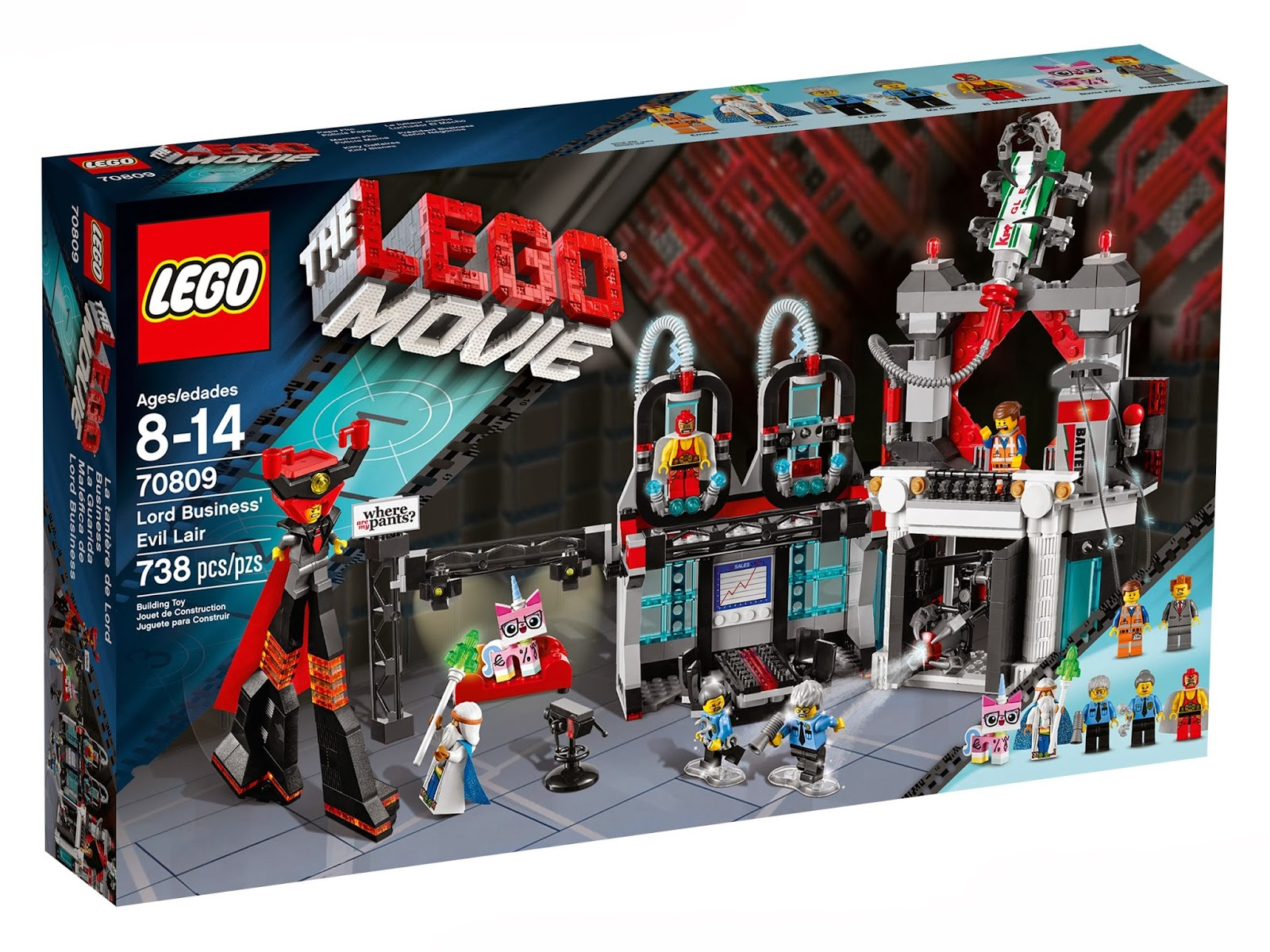 All Lego Toys : The minifigure collector lego movie sets and minifigures