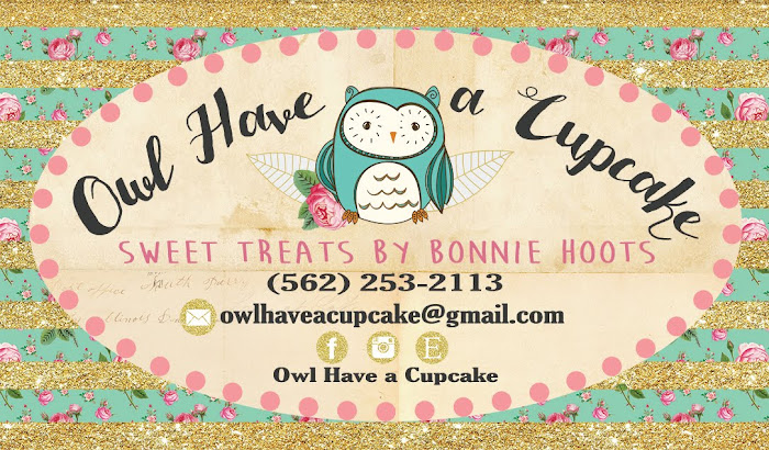 Owl have a cupcake!