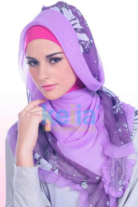 Cara Berhijab Segi Empat Hijab Untuk Pesta | apexwallpapers.com