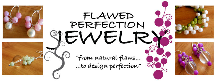 flawed perfection A shop full of sterling silver and gemstone/pearl and swarovski crystal cluster jewelry designs hand-made in sunny san diego, ca.