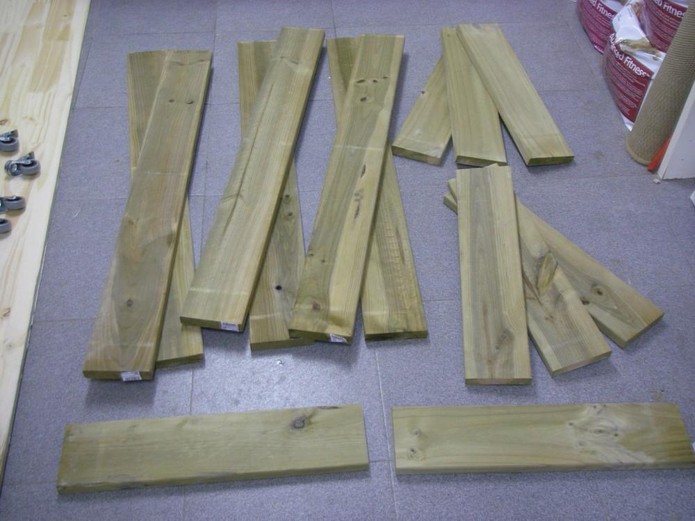 Cultivar el huerto casero mesa de cultivo de madera - Patas mesa bricodepot ...