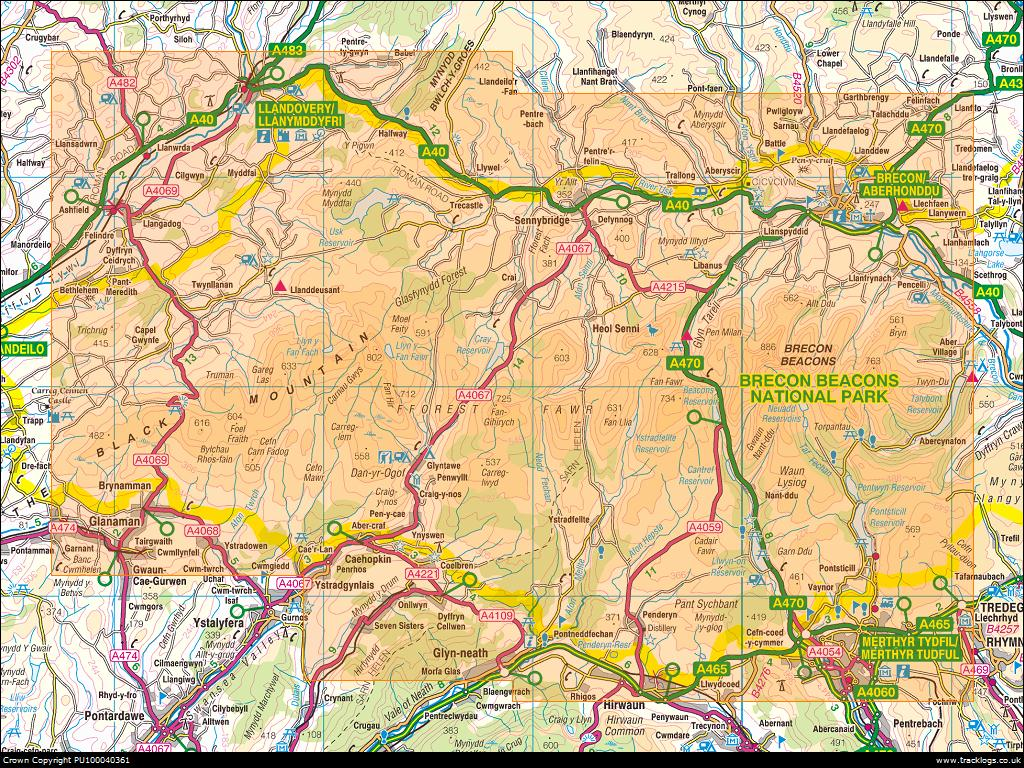 One Man S Travels A Holiday In The Brecon Beacons Wales