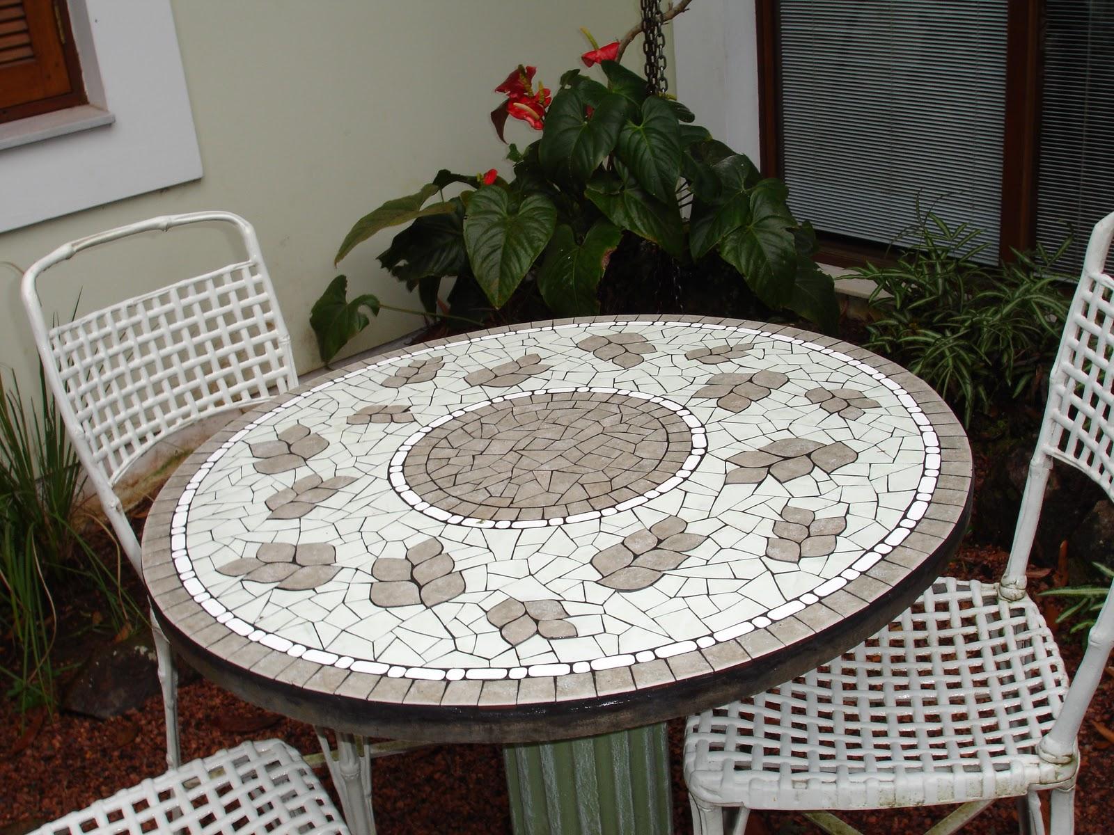 mesa jardim concreto : mesa jardim concreto:Blog de mosaicos da Ilse: mesas de concreto