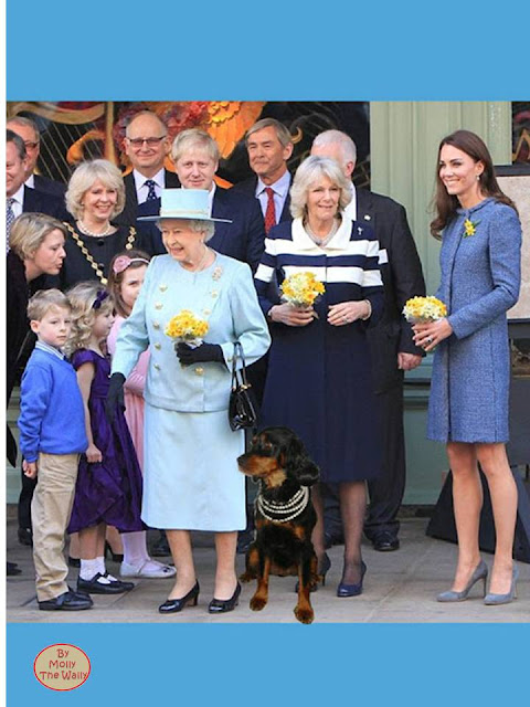 Molly The Wally meets the Royals.