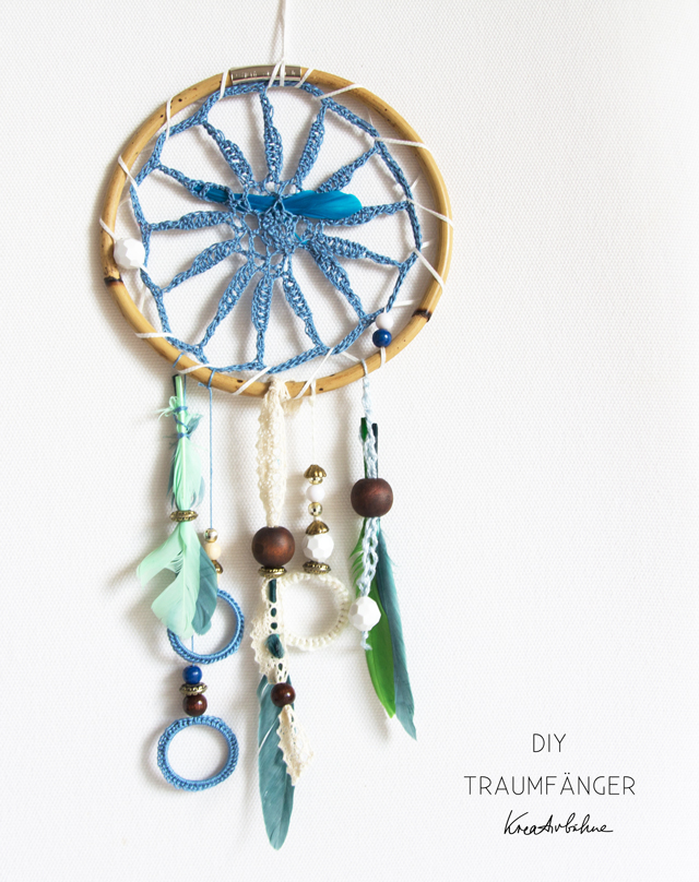 diy dreamcatcher bohemian