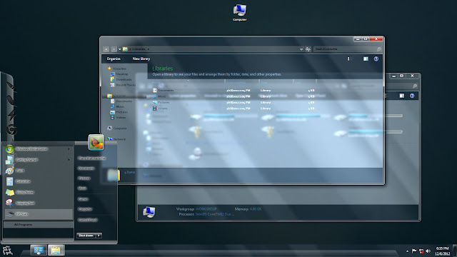 Real Aero Glass Windows 7 Theme