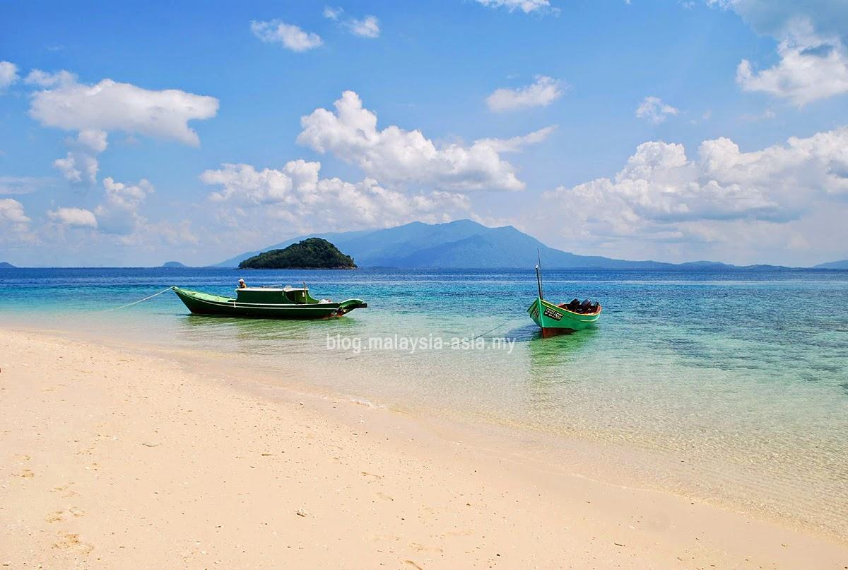 Talang Island in Sarawak