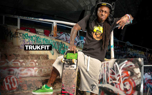Check out these photos from Lil Wayne   s photo shoot with TRUKFIT    Lil Wayne Clothing Trukfit