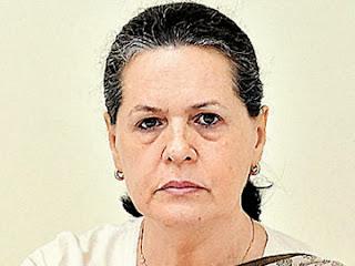 AICC President Sonia Gandhi