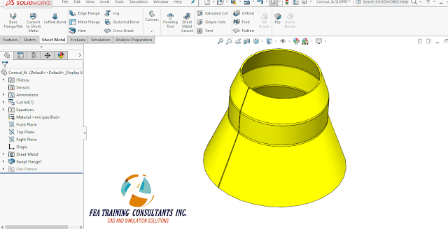 flanges solidworks