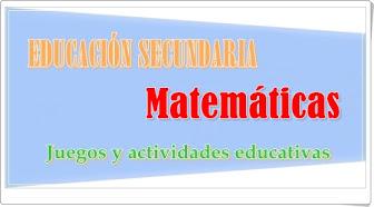 Matemáticas de Secundaria