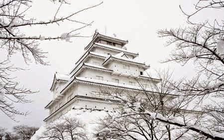 Pemandang Salju Terindah di Jepang