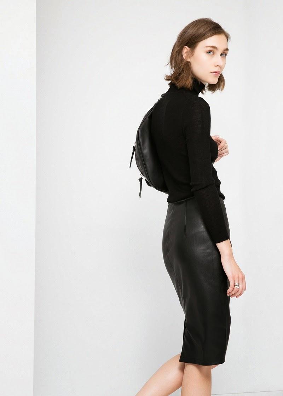 deri etek pantolon 2015 moda bilgilerburada 2 2015 Deri Etek Modelleri,mini deri etek kombinler,2015 deri modası bayan