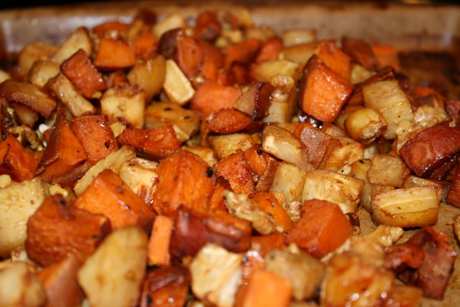 Awakening With Food: Apple Cinnamon Roasted Veggies with ...